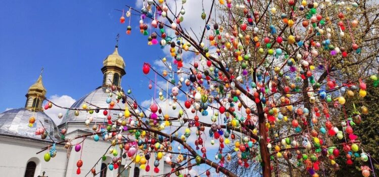 While social distancing, we keep together and share our traditions of celebrating Easter! In our diversity is our richness and unity!