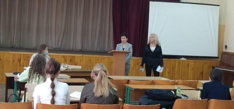 Зустріч із учнями одинадцятих класів Кам'янець-Подільського НВК №14